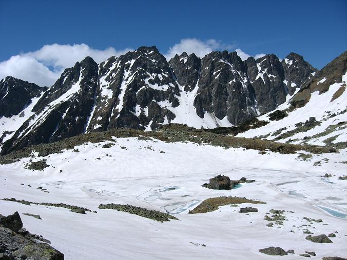Foto: Andreas Koller / Wandertour / Rysy - Paradeberg der Hohen Tatra (2503 m) / Bei den Zable plesa / 21.05.2007 18:53:17