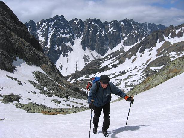 Foto: Andreas Koller / Wandertour / Rysy - Paradeberg der Hohen Tatra (2503 m) / Hüttenanstieg zur Chata pod Rysmi / 21.05.2007 18:54:33
