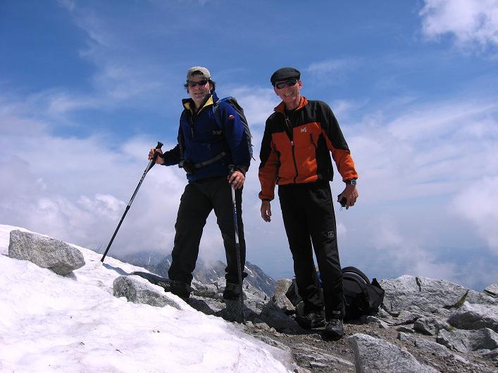 Foto: Andreas Koller / Wander Tour / Krivan von Strbske pleso (2494 m) / Gipfelsieg am Krivan / 21.05.2007 19:39:56