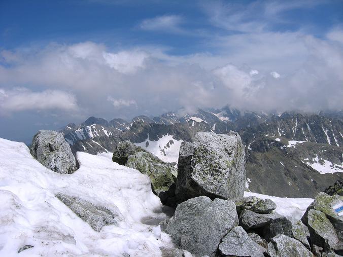 Foto: Andreas Koller / Wander Tour / Krivan von Strbske pleso (2494 m) / Die Tatra-Gipfel / 21.05.2007 19:40:34