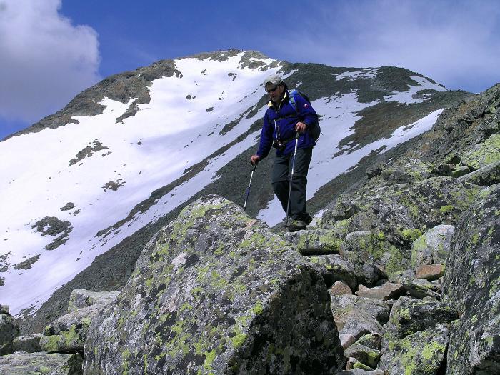 Foto: Andreas Koller / Wander Tour / Krivan von Strbske pleso (2494 m) / Am Krivan SO-Grat / 21.05.2007 19:42:10
