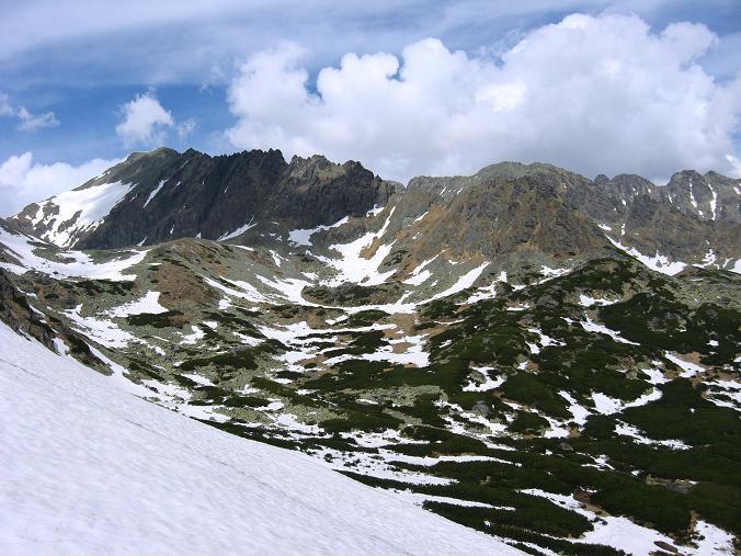 Foto: Andreas Koller / Wander Tour / Krivan von Strbske pleso (2494 m) / Tatra-Grate / 21.05.2007 19:43:02