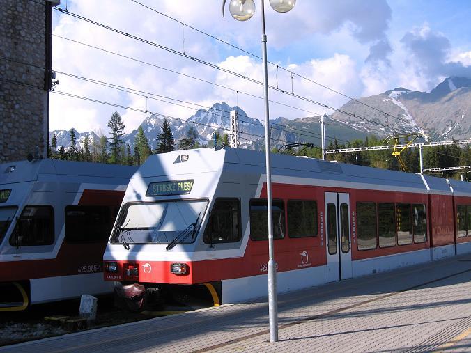 Foto: Andreas Koller / Wander Tour / Krivan von Strbske pleso (2494 m) / Mit dem Zug leicht erreichbar: Strbske pleso / 21.05.2007 19:45:43