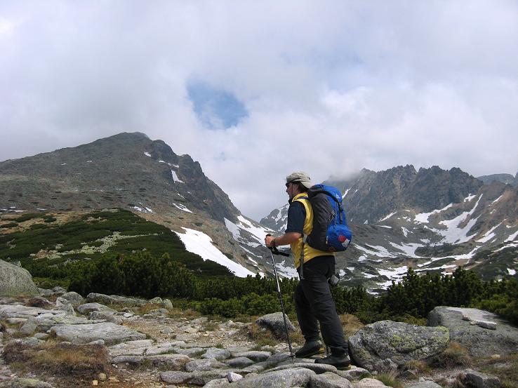 Foto: Andreas Koller / Wander Tour / Krivan von Strbske pleso (2494 m) / Anstieg von SO / 21.05.2007 19:38:24