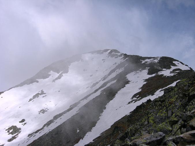 Foto: Andreas Koller / Wander Tour / Krivan von Strbske pleso (2494 m) / SO-Grat und Krivan-Gipfel / 21.05.2007 19:38:54