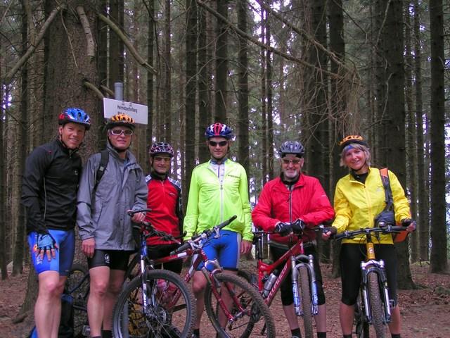 Foto: Jürgen Lindlbauer / Mountainbike Tour / Von Unterweitersdorf nach Ottenschlag im Mühlkreis / Helmetzedter Berg 924m / 21.05.2007 22:23:35
