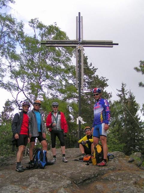 Foto: Jürgen Lindlbauer / Mountainbiketour / Von Unterweitersdorf nach Ottenschlag im Mühlkreis / Gipfelsieg: Zeißberg 804m / 21.05.2007 22:25:50