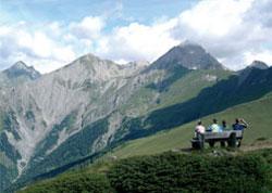 Foto: Tirol Werbung / Wander Tour / Adlerweg Etappe O 06 - Den Großglockner im Visier / 26.07.2007 10:35:33