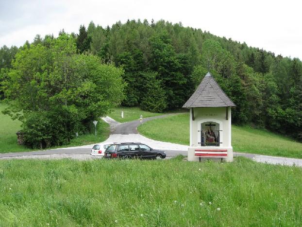 Foto: mucho / Mountainbike Tour / Zetz (nur als Wanderung möglich, keine Mountainbike Tour) / Gschnaidter Kreuz Auffahrt rechts; Rückfahrt von links / 25.05.2007 19:49:04