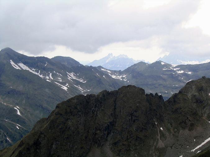 Foto: Andreas Koller / Wander Tour / Gummaberg und Kreuzhöhe (2566 m) / Blick nach NW auf die Bischofsmütze (2459 m)  / 28.05.2007 10:43:20