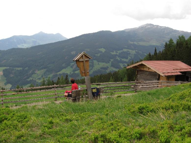Foto: mucho / Mountainbiketour / Kreuztaxen - Herrenalm / Herrenalm mit Kellerjoch / 29.05.2007 14:58:10