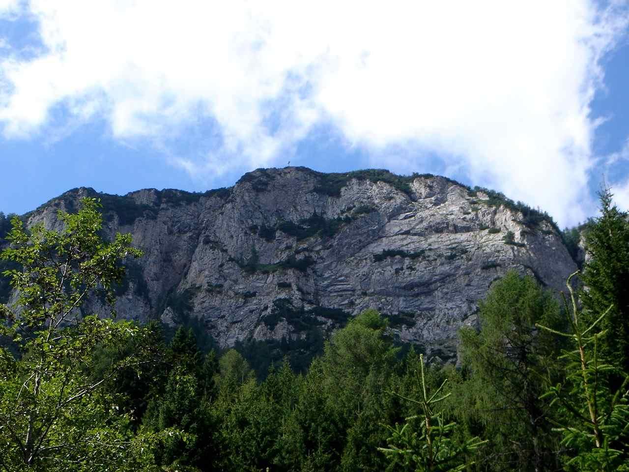 Foto: Manfred Karl / Wander Tour / Über den Krainersteig auf den Kärntner Storschitz / Die steile Ostseite des Storschitz. / 03.06.2007 18:11:36