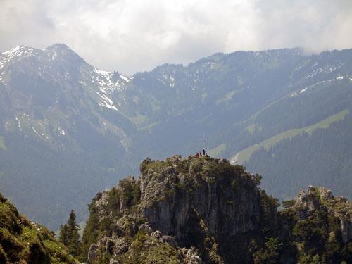 Foto: vince 51 / Wander Tour / Auf den Sorgschrofen (1638m) / der Westgipfel