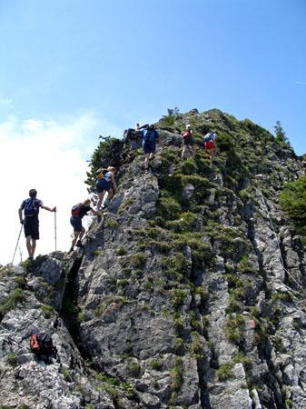 Foto: vince 51 / Wander Tour / Auf den Sorgschrofen (1638m) / nur was für Könner !! / 03.06.2007 21:26:47