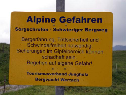 Foto: vince 51 / Wander Tour / Auf den Sorgschrofen (1638m) / 03.06.2007 21:28:54