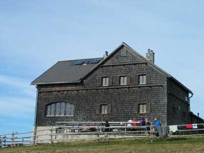 Foto: pipe / Wander Tour / Reisalpe Hinteralm überschreitung / Reisalpenhaus / 06.06.2007 19:25:17