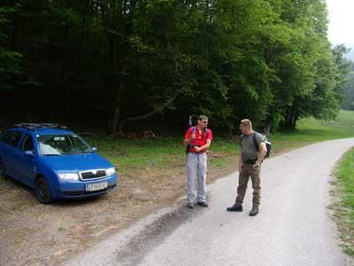 Foto: pipe / Wander Tour / Reisalpe Hinteralm überschreitung / Parkplatz Andersbach / 06.06.2007 19:23:23