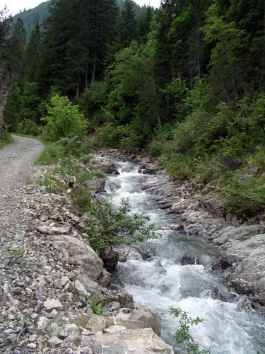 Foto: vince 51 / Wander Tour / Von Namlos auf Engelspitze und Seelakopf / der Brentersbach / 09.06.2007 23:09:03