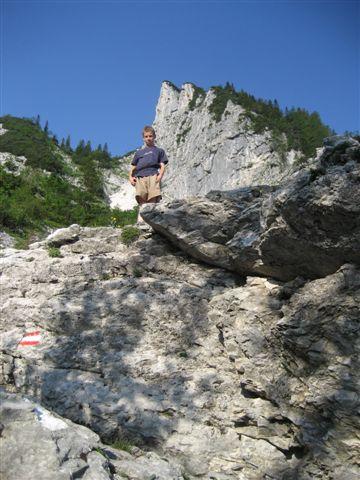 Foto: Alpinfreunde / Wandertour / Hochleckenkogel, Brunnkogel, Hochleckenhaus / Hinauf zum Brunnkogel / 10.06.2007 20:15:44