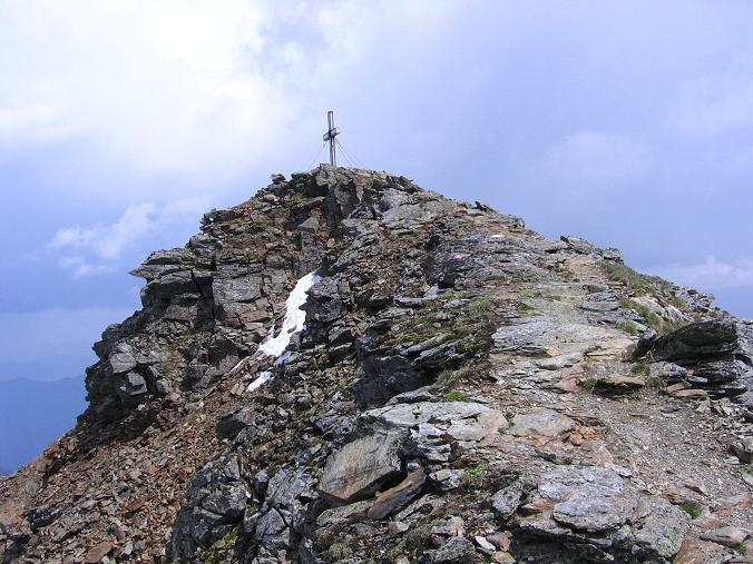 Foto: Andreas Koller / Wander Tour / Über die Hans Wödl Hütte auf die Hochwildstelle (2747 m) / Die letzten Meter zum Gipfel / 11.06.2007 21:17:51