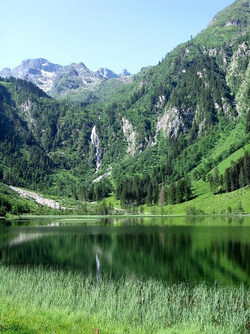 Foto: Andreas Koller / Wander Tour / Über die Hans Wödl Hütte auf die Hochwildstelle (2747 m) / Der Steirische Bodensee / 11.06.2007 21:06:45