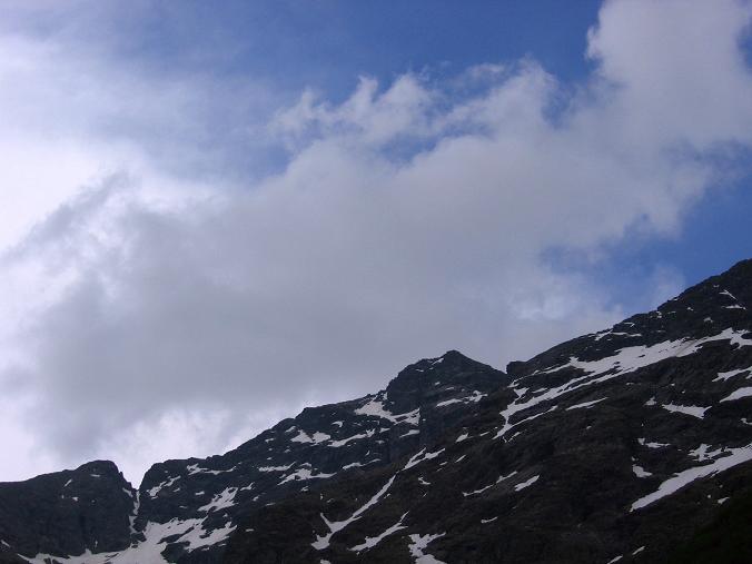 Foto: Andreas Koller / Wander Tour / Über die Hans Wödl Hütte auf die Hochwildstelle (2747 m) / Die Hochwildstelle nach einem Gewitter / 11.06.2007 21:19:32