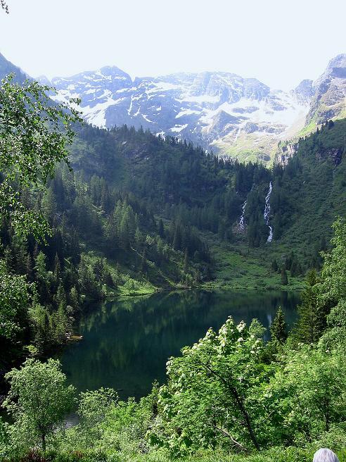 Foto: Andreas Koller / Wander Tour / Über die Hans Wödl Hütte auf die Hochwildstelle (2747 m) / Der Hüttensee mit Hochwildstelle / 11.06.2007 21:08:43