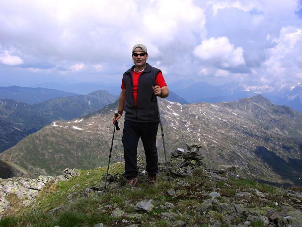 Foto: Andreas Koller / Wander Tour / Vom Giglachsee auf die Engelkarspitze (2518 m) / Am Gipfel der Engelkarspitze / 11.06.2007 22:43:58