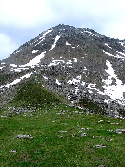Foto: Andreas Koller / Wander Tour / Vom Giglachsee auf die Engelkarspitze (2518 m) / Die Aufstiegsseite der Engelkarspitze / 11.06.2007 22:46:30