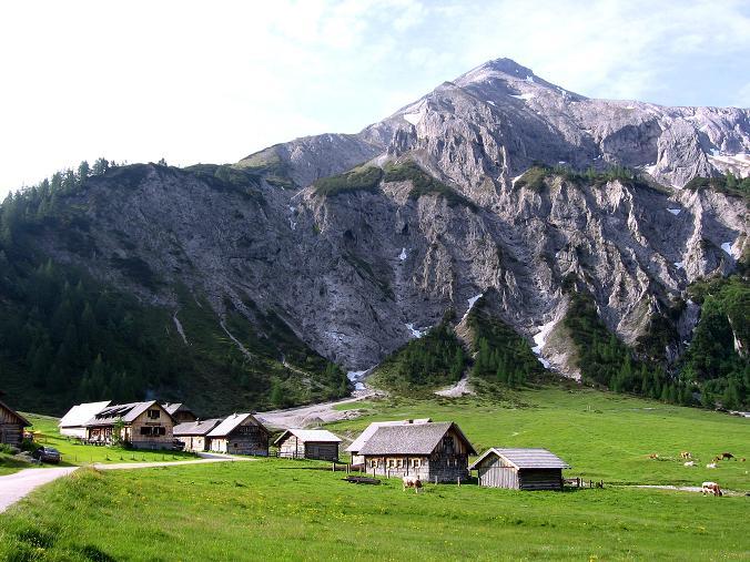 Foto: Andreas Koller / Wander Tour / Vom Giglachsee auf die Engelkarspitze (2518 m) / Ursprungalm und Steirische Kalkspitze (2459 m) / 11.06.2007 22:39:49