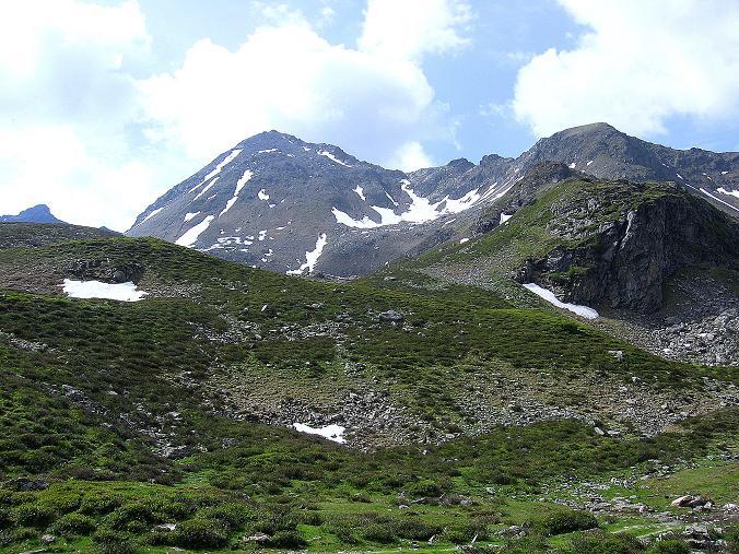 Foto: Andreas Koller / Wander Tour / Vom Giglachsee auf die Engelkarspitze (2518 m) / Die N-Flanke der Engelkarspitze (Anstiegsflanke) / 11.06.2007 22:42:41
