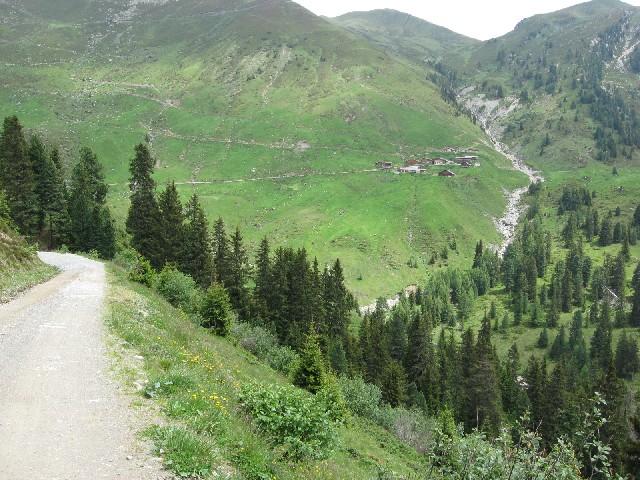 Foto: mucho / Mountainbike Tour / Stumm - Kapaunsalm - Gerlos / Außerertensalm / 13.06.2007 19:22:07