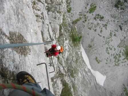 Foto: dobratsch11 / Klettersteig Tour / Winkelturm Klettersteig / 16.06.2007 20:40:51