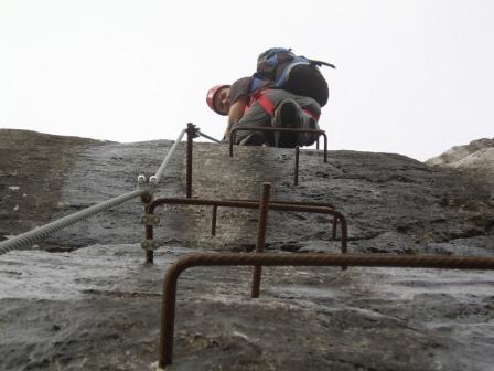Foto: dobratsch11 / Klettersteig Tour / Winkelturm Klettersteig / 17.06.2007 20:09:13