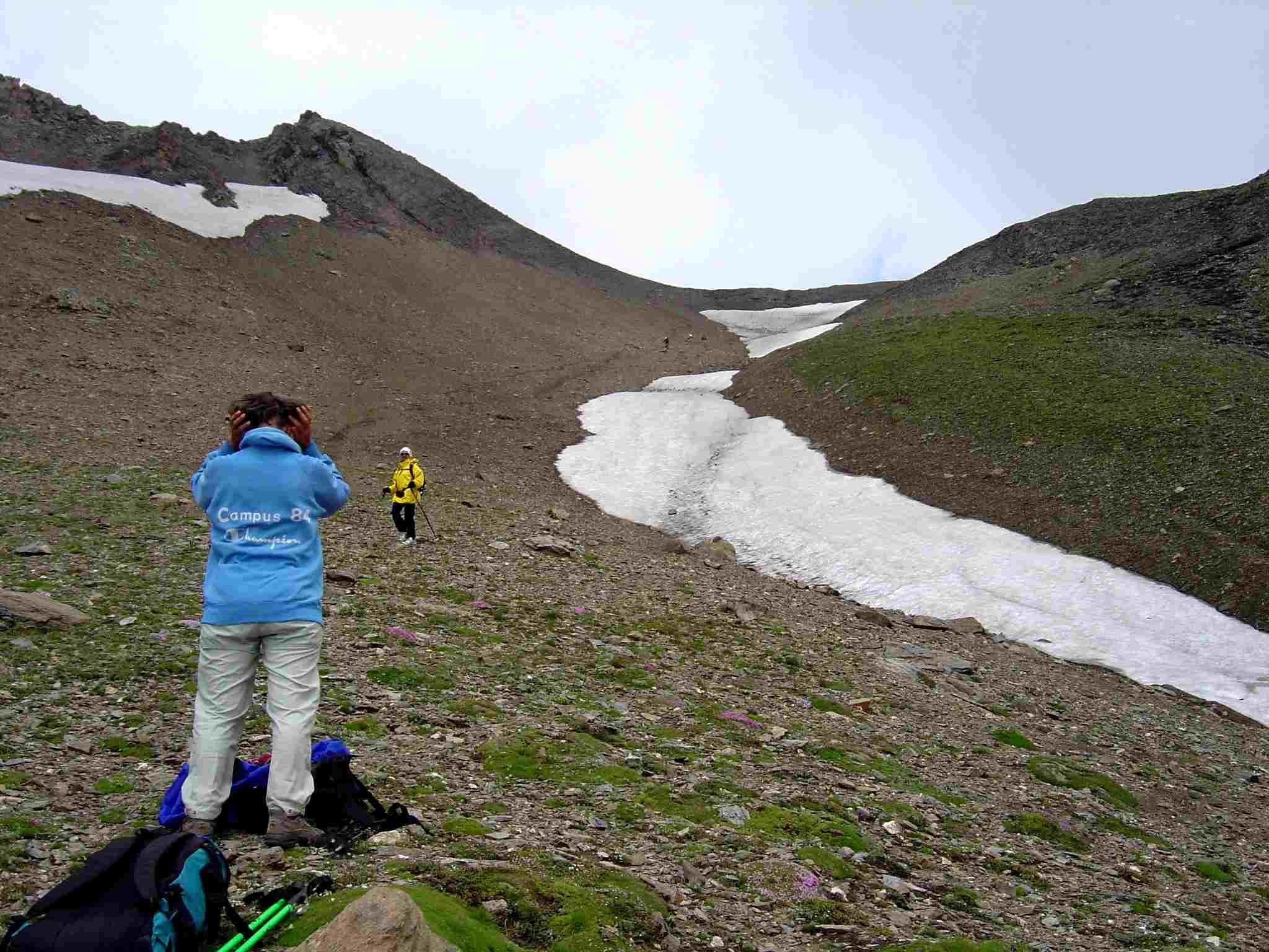 Foto: Manfred Karl / Wander Tour / Über Blumenwiesen auf die Racherin / Die lange Rinne - runter geht´s deutlich leichter! / 17.06.2007 06:21:23