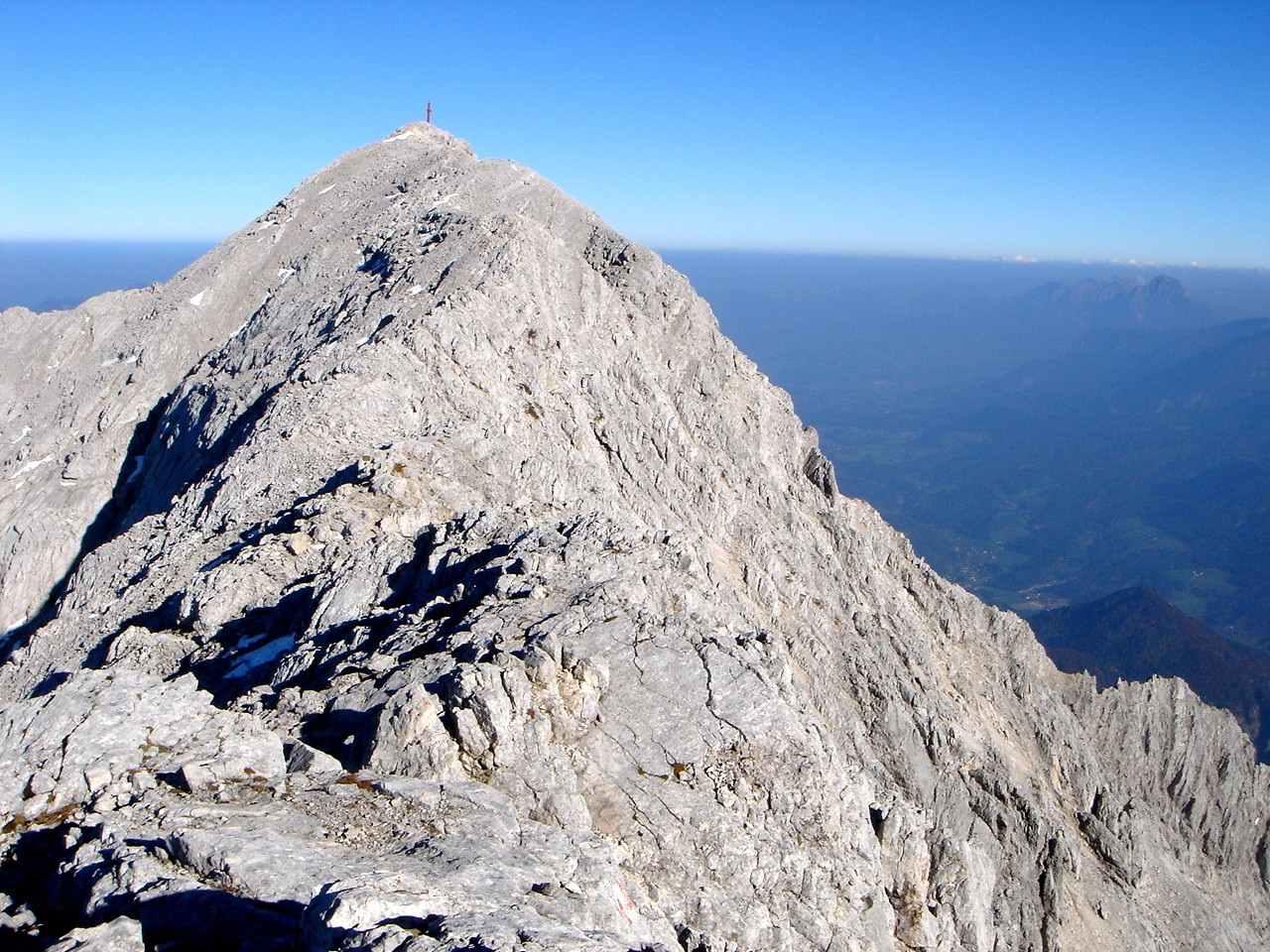 Foto: Manfred Karl / Wander Tour / Über den Großen Priel auf den Temelberg / Gipfelgrat am Priel / 17.06.2007 07:31:52
