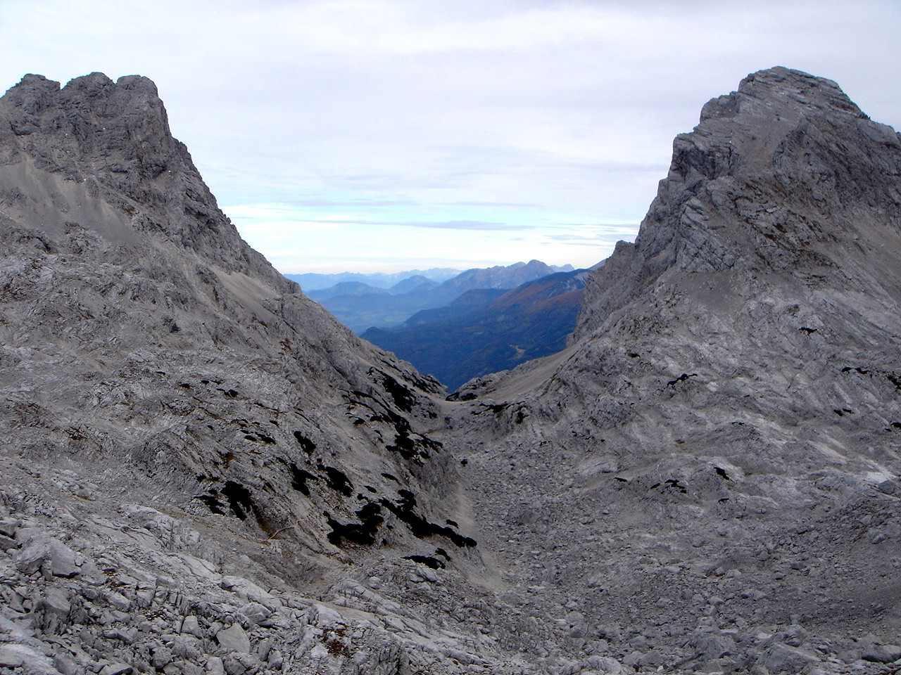 Foto: Manfred Karl / Wander Tour / Über den Großen Priel auf den Temelberg / Brotfall und Spitzmauer / 17.06.2007 07:05:52