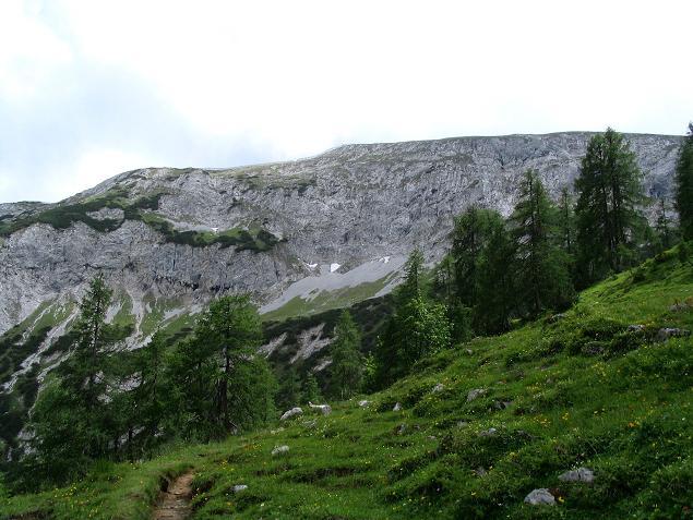 Foto: Andreas Koller / Wander Tour / Stanserjoch und Tunnelsteig (2102m) / Das breite Stanserjoch / 18.06.2007 17:18:10