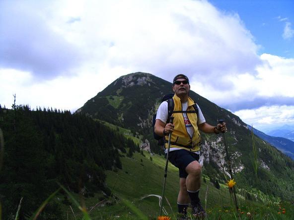 Foto: Andreas Koller / Wander Tour / Stanserjoch und Tunnelsteig (2102m) / Am Weißenbachjoch mit Bärenkopf (1991 m) / 18.06.2007 17:18:48