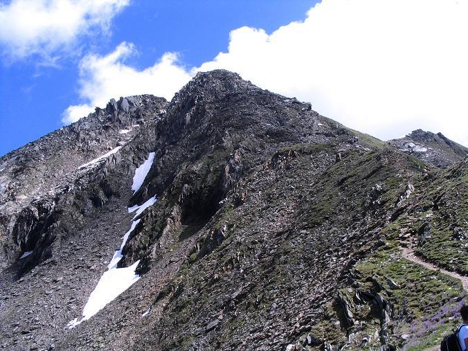 Foto: Andreas Koller / Wander Tour / Ahornspitze und Popbergschneid (2976m) / Noch ca. 30 - 40 Min. zum Gipfelkreuz / 18.06.2007 18:03:57