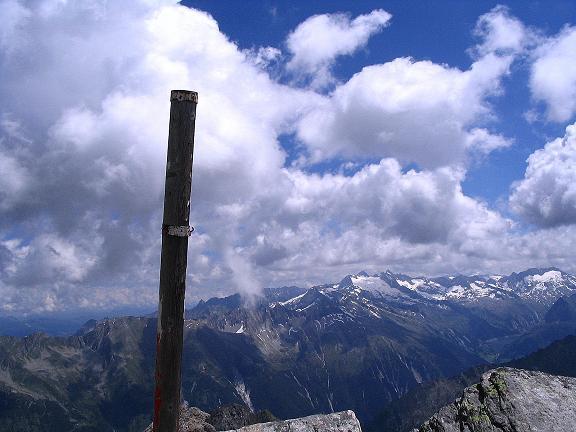 Foto: Andreas Koller / Wander Tour / Ahornspitze und Popbergschneid (2976m) / Am S-Gipfel der Ahornspitze / 18.06.2007 18:04:33