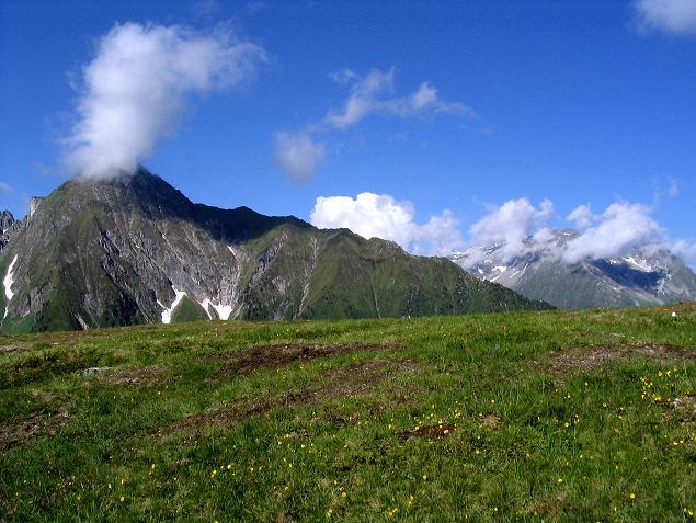 Foto: Andreas Koller / Wander Tour / Ahornspitze und Popbergschneid (2976m) / Blick auf den Gigalitzkamm im SW / 18.06.2007 17:58:47