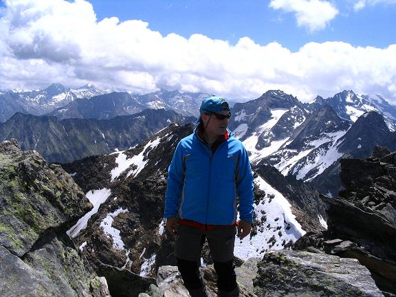 Foto: Andreas Koller / Wander Tour / Ahornspitze und Popbergschneid (2976m) / Am N-Gipfel / 18.06.2007 18:07:03