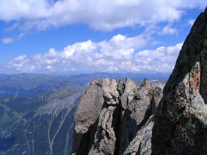 Foto: Andreas Koller / Wander Tour / Ahornspitze und Popbergschneid (2976m) / Blick nach N in die Kitzbüheler Alpen / 18.06.2007 18:07:41