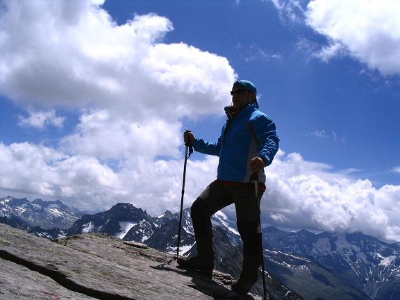 Foto: Andreas Koller / Wander Tour / Ahornspitze und Popbergschneid (2976m) / Am S-Gipfel / 18.06.2007 18:09:21