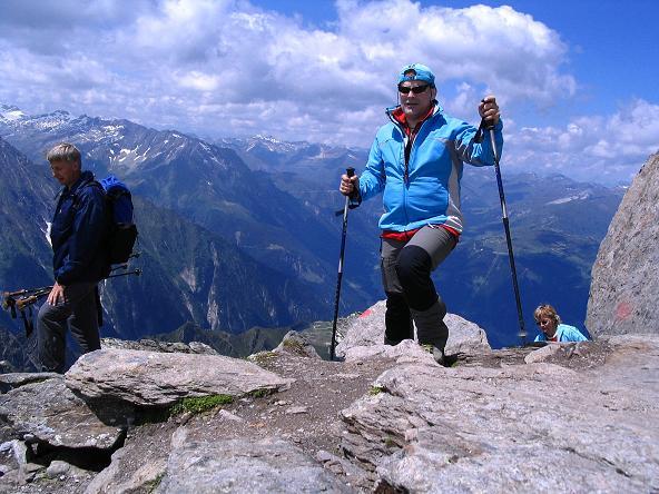 Foto: Andreas Koller / Wander Tour / Ahornspitze und Popbergschneid (2976m) / Abstieg vom S-Gipfel / 18.06.2007 18:09:39