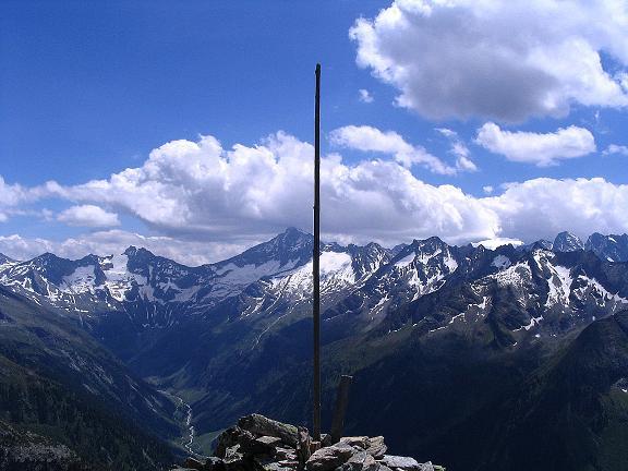 Foto: Andreas Koller / Wander Tour / Ahornspitze und Popbergschneid (2976m) / Blick nach S vom Toreggenkogel / 18.06.2007 18:13:45