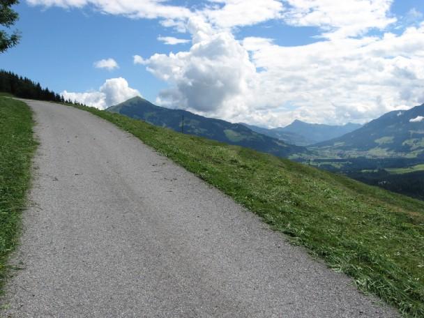Foto: mucho / Mountainbiketour / Feldalphorn / li Hohe Salve; re Kitzbüheler Horn / 18.06.2007 18:12:33
