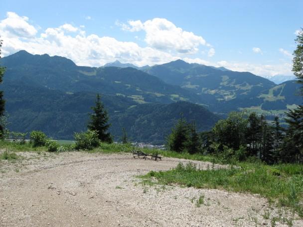 Foto: mucho / Mountainbike Tour / Voldöppberg / rechts der Mitte Wiedersberger Horn / 19.06.2007 17:29:30
