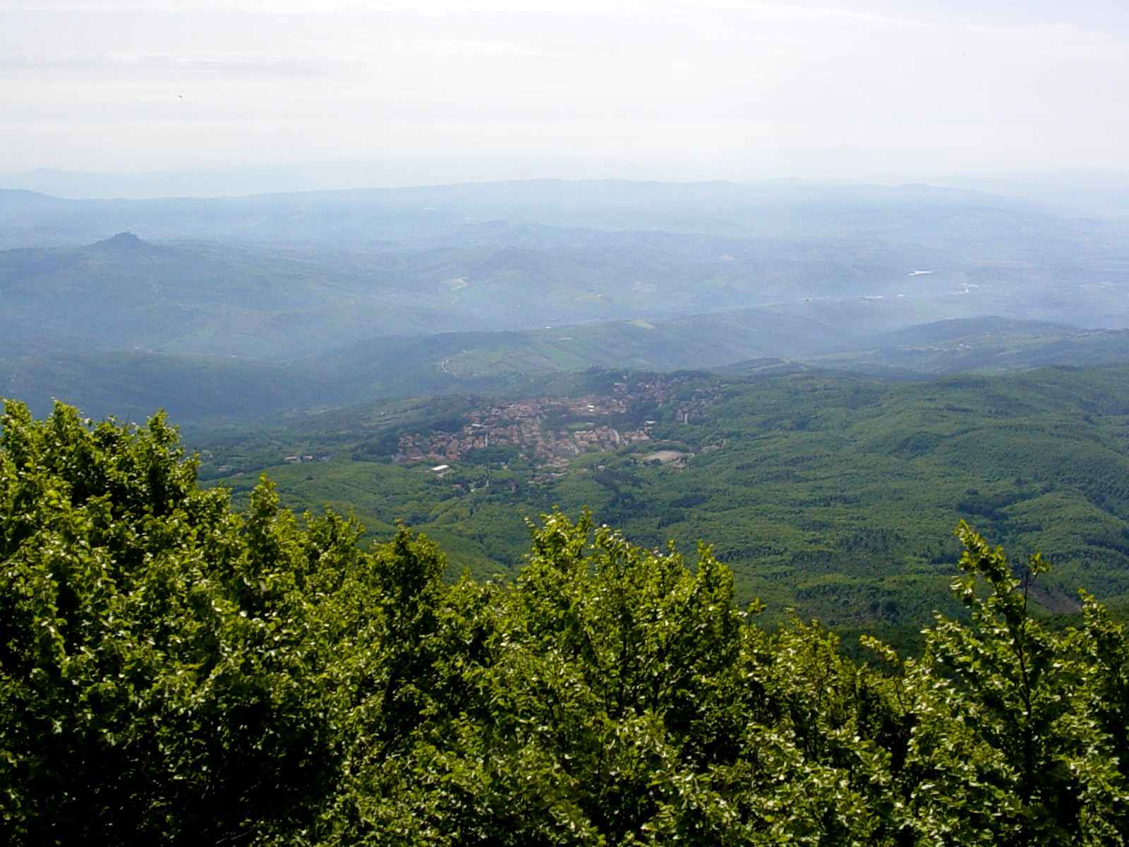 Foto: Manfred Karl / Mountainbike Tour / Monte Amiata, 1733 m / Gipfelschau / 20.06.2007 06:14:05